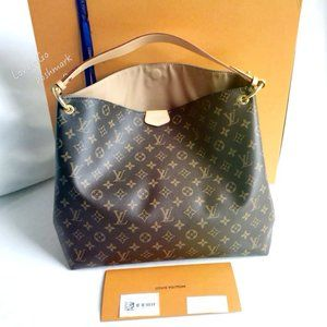 Louis Vuitton Graceful MM monogram hobo bag